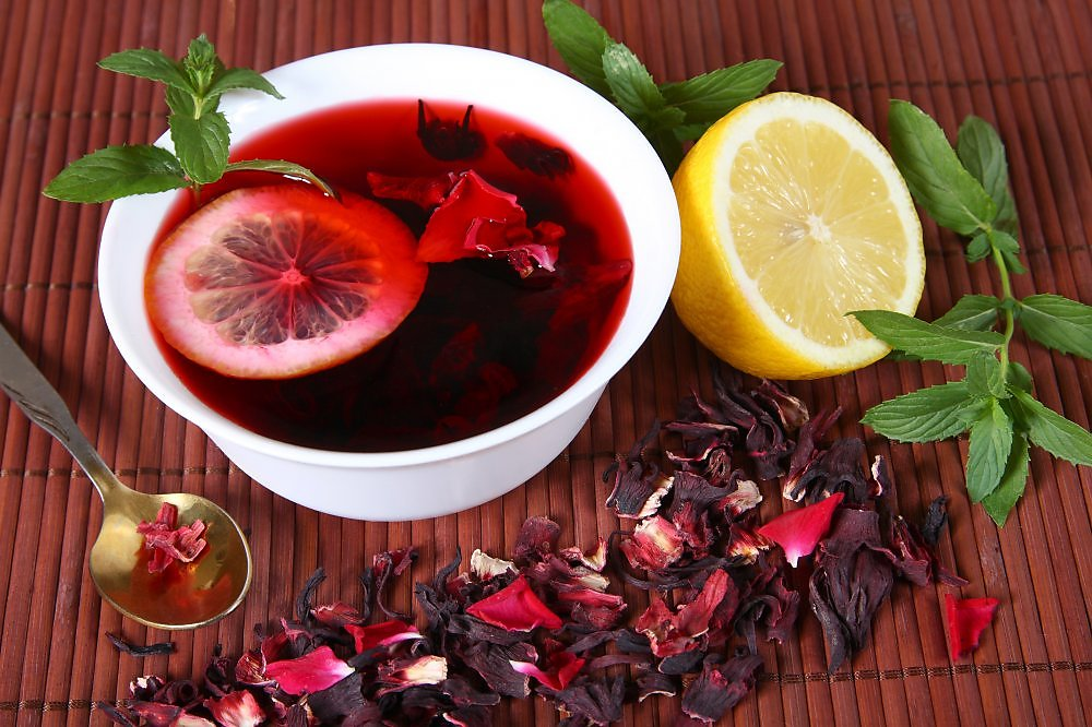 чай каркаде из какого растения